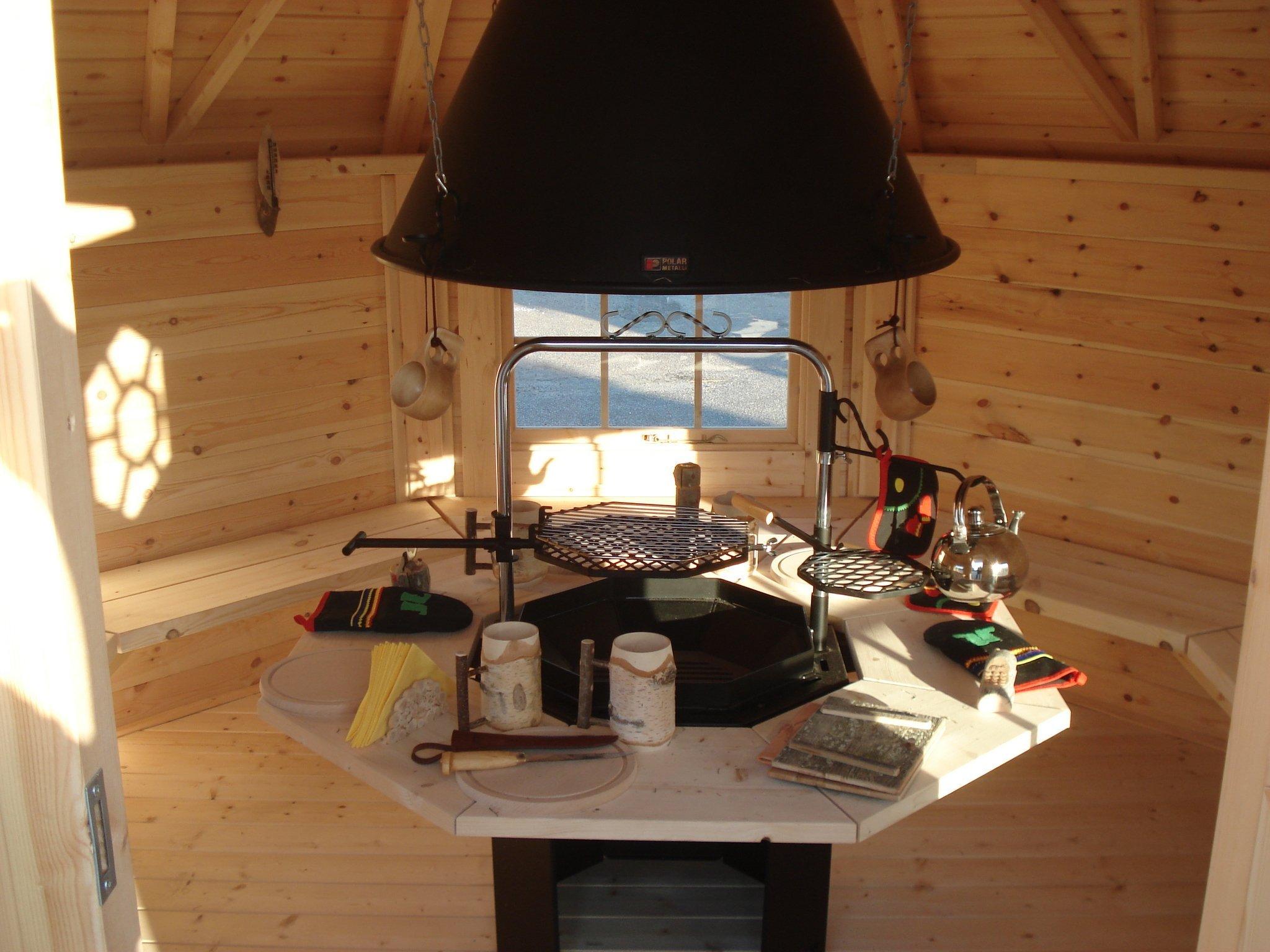 grillhütte / kota 8,0 m² - scandinavic wood art