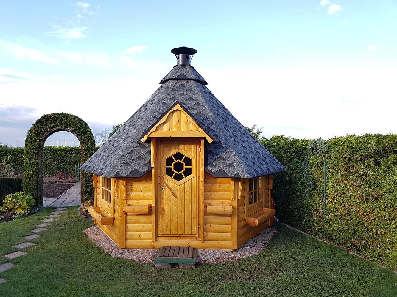 grillhütte / kota 9,2 m² - scandinavic wood art